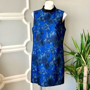 Phase Eight Floral Brocade Shift Dress Size 12